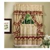 """Sunflower Kitchen Curtain Cottage Set 36""""x57""""- Antique"""