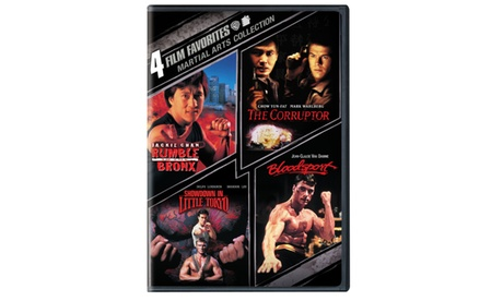 4 Film Favorites: Martial Arts Collection (4FF) (DVD) 18ea7f71-601f-4d56-aa30-db1752656430