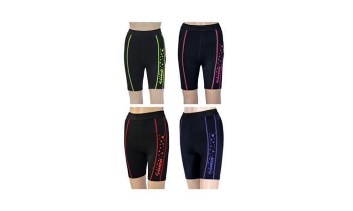 New Zimco Elite Women Compression Short Base Layer Skin Shorts Nicks