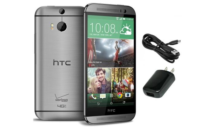 HTC One M8 32GB Verizon Factory Unlocked Gray
