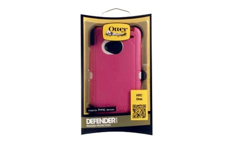 OtterBox Defender Case for HTC One (M7) - Blush Pink 215281a6-94b6-4794-9e83-21258398038b