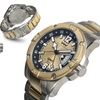 Weil And Harburg Leade Mens Watch Gold/Silver/Silver/Gold/Black