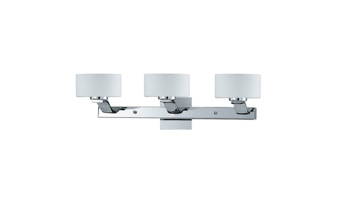Dublin Collection 3-Light Chrome Bath Vanity