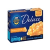 Kraft Macaroni & Cheese, Deluxe Original Cheddar, 14 oz (Pack of 24)
