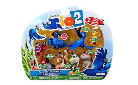 Rio 2 Movie Carnival Party Pack Mini Figures Set 8-pack 384ef969-10b0-4e34-850a-87072cd40a19