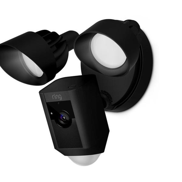 Ring Floodlight Camera Motion-Activated HD Security Cam Two-Way