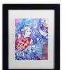 Lowell S.V. Devin 'Clown Stars' Matted Framed Art