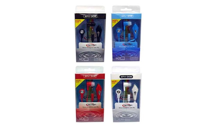Buy It Now : Buy 1 Get 1 Free-Fitness Earphones w/ Microphone-Silicone Ear Tips