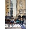 Ryan Radke Rush Hour - Chicago Canvas Print
