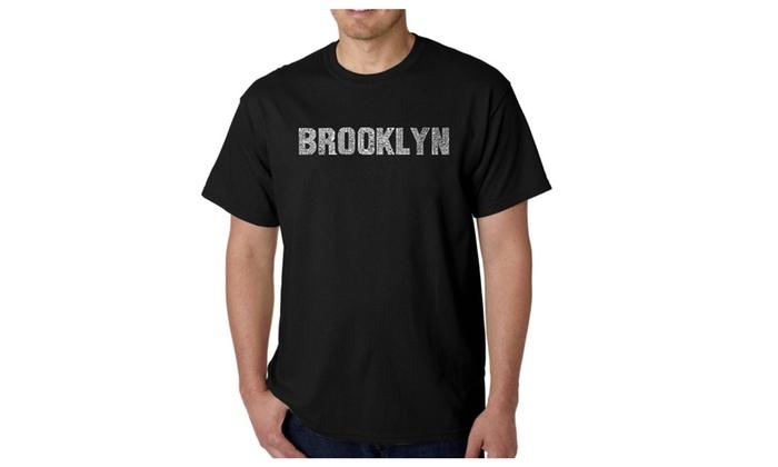 Men's T-shirt - BROOKLYN NEIGHBORHOODS