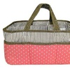 Trend Lab Cocoa Coral Storage Caddy, Pink