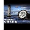 SHARK SH041 Mens Dual Time LCD Chronograph Rubber Watch White Dial