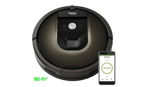 iRobot Roomba 980 Robotic Vacuum with Wi-Fi Connectivity (Refurbished)