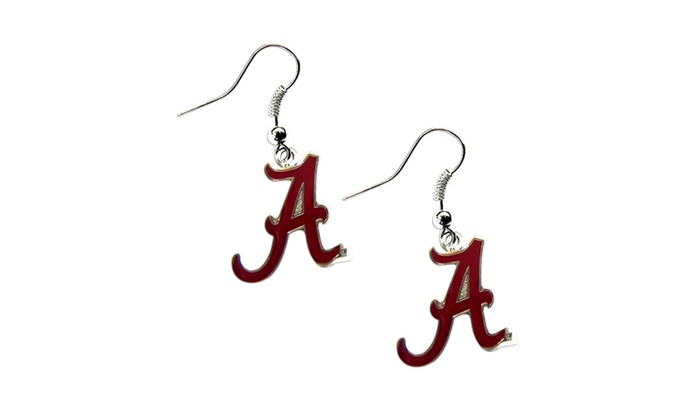 NCAA Sports Team Dangle Logo Earring Set Charm Gift