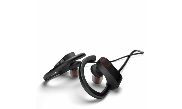 Up To 73 Off On Waterproof Bluetooth Earbuds Groupon Goods