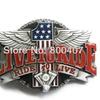 Enamel Vintage Ride To Live Motorcycle Engine Rider Biker Belt