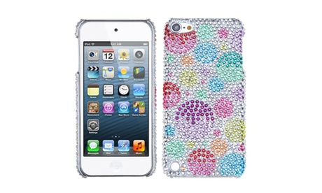 Insten Rainbow Bigger Bubbles Diamond Phone Case For iPod Touch 6/5 94b11176-bb72-414d-8808-d0d27663c1e4