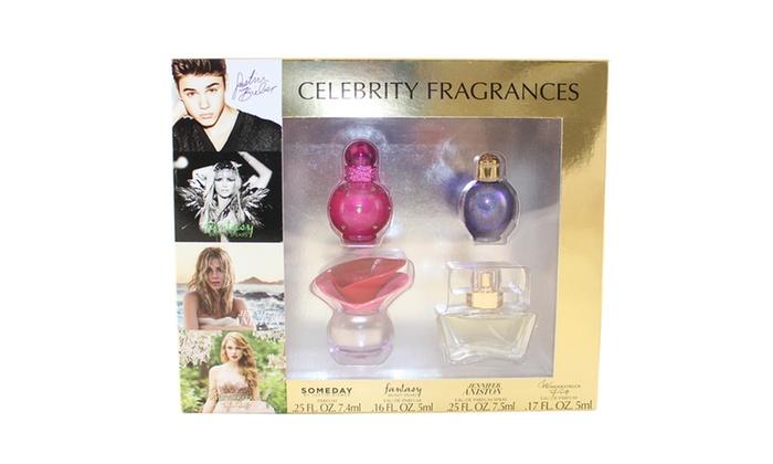 Celebrity fragrance gift sets