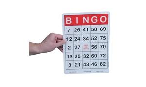 Jumbo Bingo Cards (pack of 100)