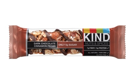 Kind Dark Chocolate Cinnamon Pecan Bar, 1.4 Ounce -- (Pack of 12)
