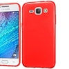 Insten Frosted Rubber Cover Case For Samsung Galaxy J1 Red