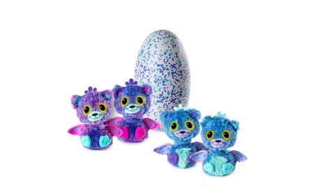 Hatchimals Surprise Peacat Hatching Egg w/Surprise Twin by Spin Master ed5eb8fe-a051-4fa2-ac20-06527119cee8