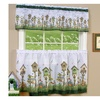 "Home Sweet Home Tier Pair 36""x58"" and Valance 13""x58"" Set- Multi Color"