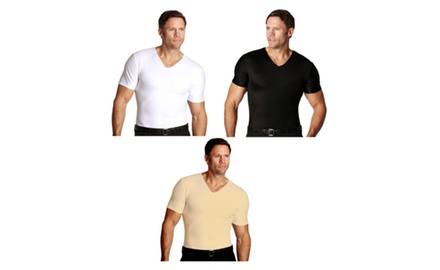 Insta Slim 3 Pack Compression V-Neck