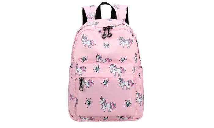 1ae65b5be Kids Preschool Backpack Girls Toddler Bookbag Water Resistant (Y007-Pink)