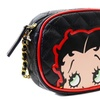 Betty Boop Loungefly Black Quilted Gold Chain Small Crossbody Handbag