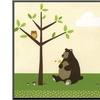 Woodland Friends IV by Erica J. Vess