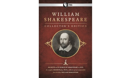William Shakespeare Collector's Edition DVD 1523b5dd-f362-425e-9de3-aedfa8472115