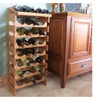 Wooden Mallet 12 Bottle Dakota Wine Rack with Display Top - WRD33