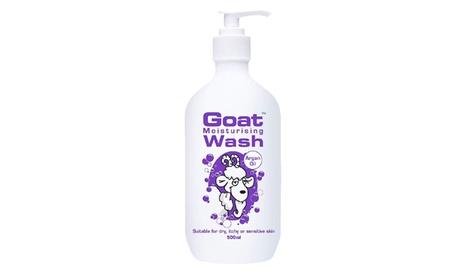 Goat Moisturizing Body Wash w/ Argan Oil, 16.9 oz