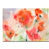 Sheila Golden 'Flower Field' Canvas Art