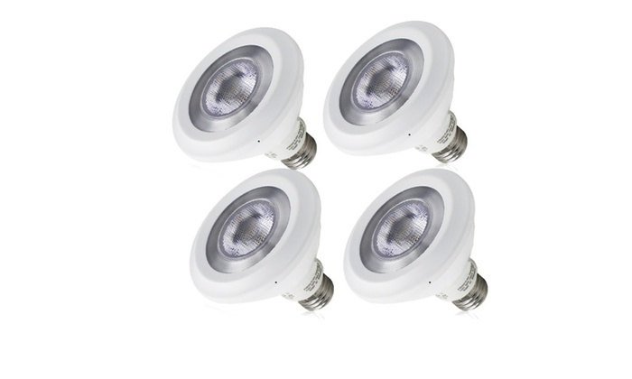 4-Pack 13W PAR30 LED Bulbs - 75W Halogen Equivalent - 3000K Warm White