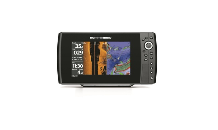 humminbird helix 9 si gps kvd | groupon, Fish Finder