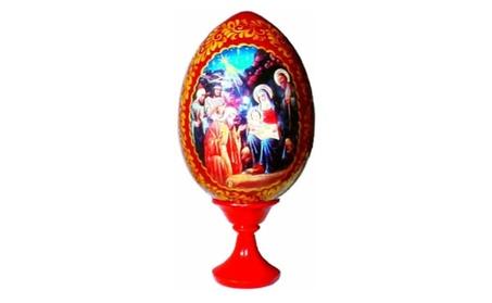 Russian Egg - Nativity Scene e397da0a-44f5-4642-ba6d-b4d0d8a9aba4