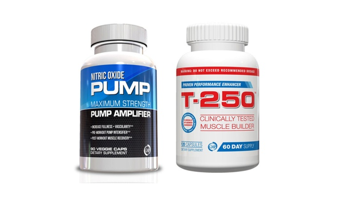 Buy It Now : Muscle Building Supplements-Nitric Oxide and T-250 Kit