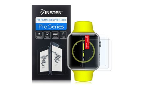 Insten 3x Anti-Glare Matte LCD Screen Protector For Apple Watch (42mm)