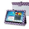 Insten Leather Case Stand For Samsung Galaxy Tab 2 10.1 Purple Dot