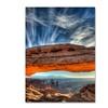 Pierre Leclerc Mesa Arch Sunrise 2 Canvas Print