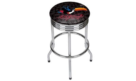 Guinness Chrome Ribbed Bar Stool - Toucan 8c96a557-9c06-4dec-9f17-06ff0374ad01