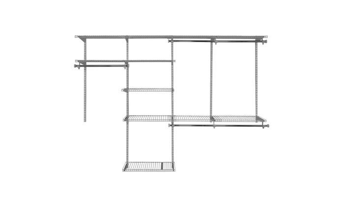 Rubbermaid Configurations Closet Kit White FG3G5902WHT ...