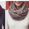 Two Tone Infinity Scarf - 5 Colors