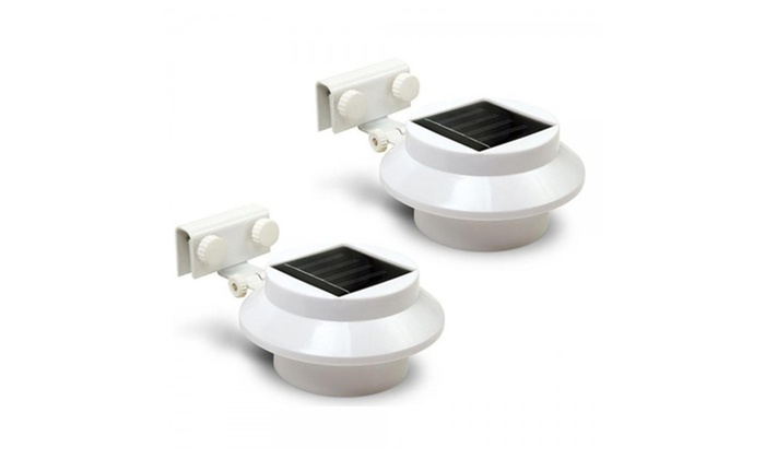 3 Pack Cool White Outdoor Solar Light Multi Purpose Led