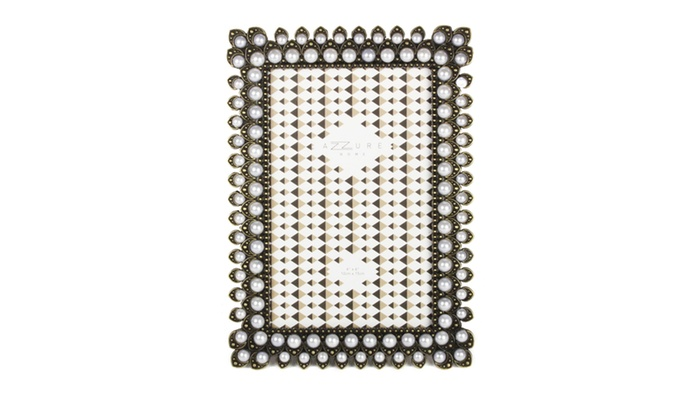 AZZURE HOME 4x6 Double Pearl Bronze Frame | Groupon