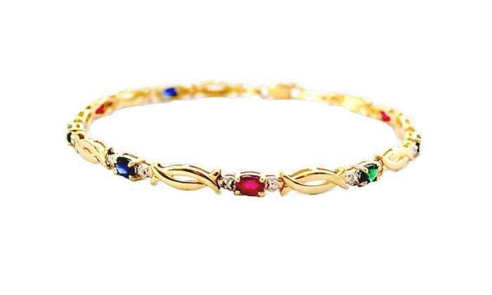 bracelet id v chain gold bracelets child childs p s