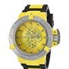 Invicta 17112 Yellow Dial Quartz 3 Hand Subaqua Men's Watch