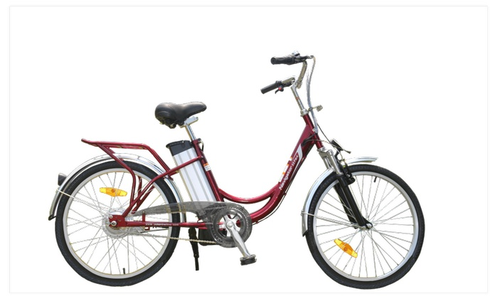 Yukon Trail New Model Electric Bike with Lithium Battery F E-Bike - Female/Step Through